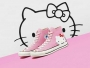converse hello kitty baskets femme enfants