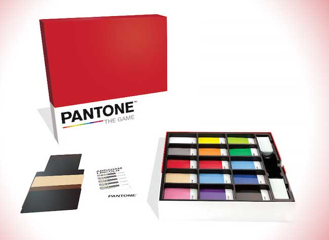 cryptozoic pantone the game jeu societe couleurs, Pantone The Game, le Jeu de Société pour Fans de Couleurs (video)