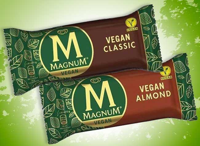 glaces magnum vegan vegetarien cornetto esquimaux