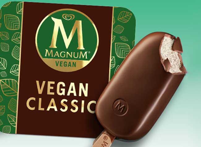 glaces magnum vegan, Glaces Magnum Vegan sans Lait et sans Reproche ?