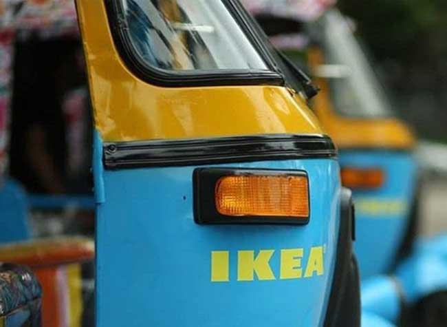 ikea inde pousse electrique energie solaire, Ikea Inde Livre ses Meubles en Pousse-Pousse Electriques (video)