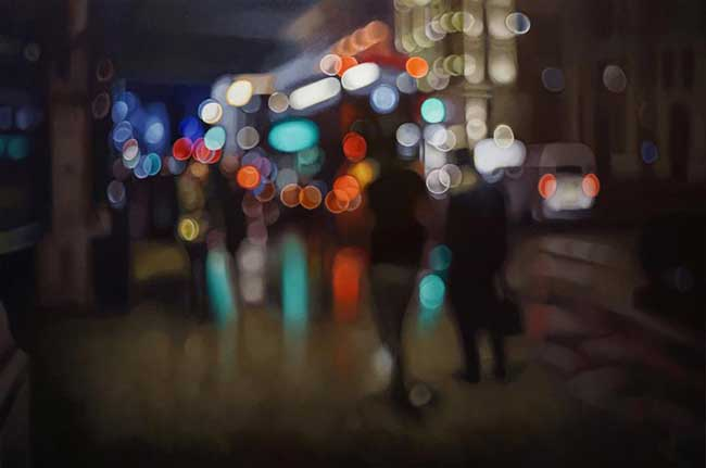bokeh peintures, Effet Bokeh en Peinture au Rendu Photographique (video)