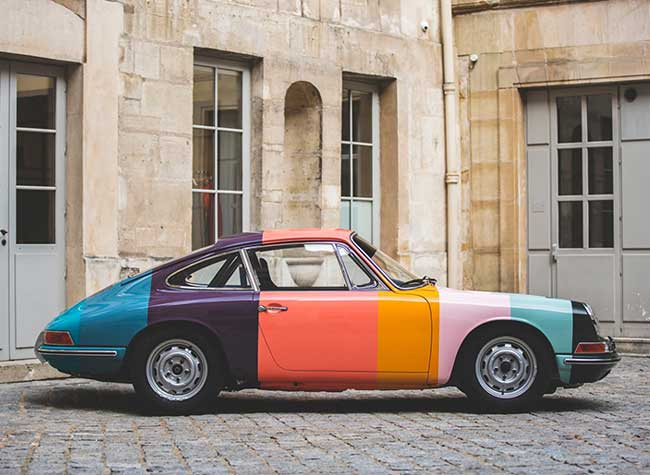 porsche 911 edition paul smith 1 - L'Iconique Porsche 911 s'Habille aux Couleurs de Paul Smith