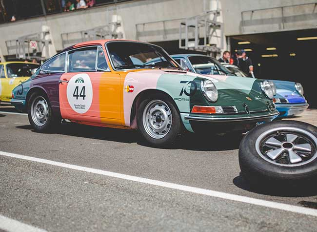 porsche 911 edition paul smith 2 - L'Iconique Porsche 911 s'Habille aux Couleurs de Paul Smith