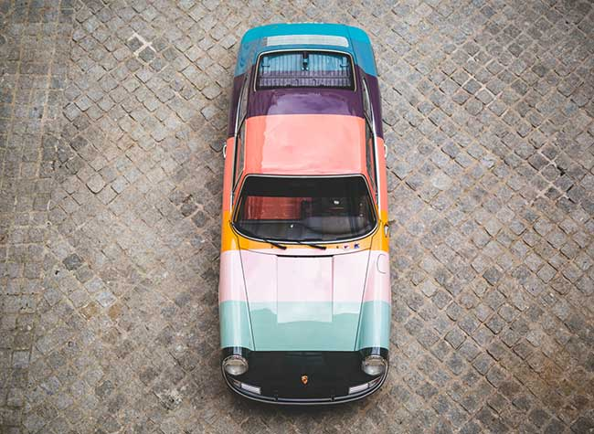 porsche 911 edition paul smith 4 - L'Iconique Porsche 911 s'Habille aux Couleurs de Paul Smith