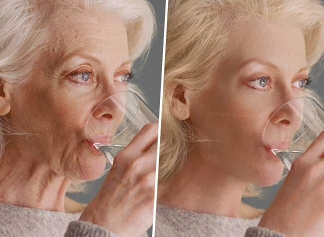 rousselos aravantinos effets speciaux video rajeunissement