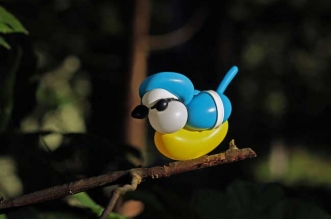 sculptures ballons oiseaux t james cook