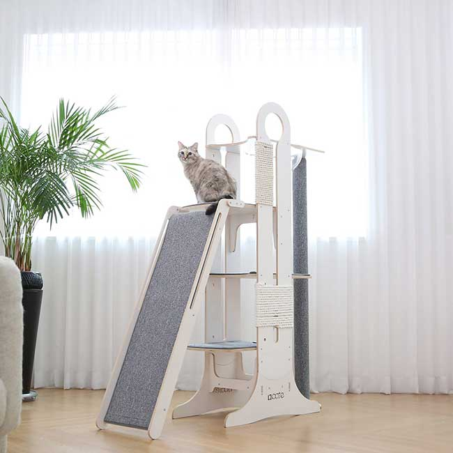 tuft paw tour arbre chat modulable design