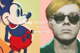 collection uniqlo disney mickey mouse andy warhol