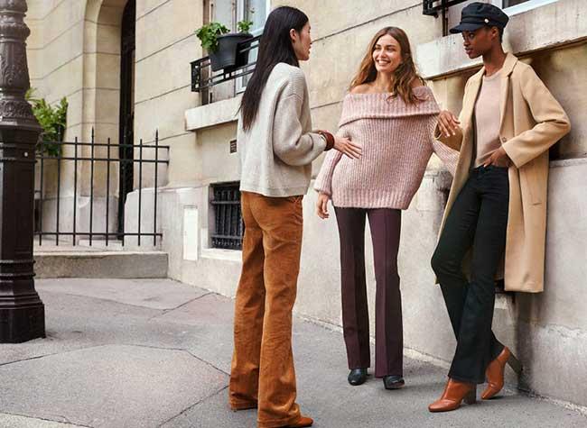 hm femmes lookbook automne hiver 2018, Cet Automne H&M nous Donne Rendez-Vous à Paris