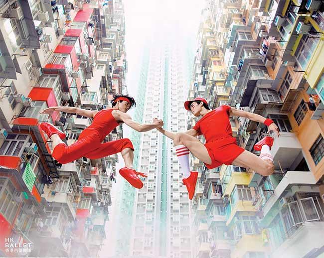 hong kong ballet campagne pub 2018 2019, Le Hong Kong Ballet dans une Campagne Pétillante de Créativité