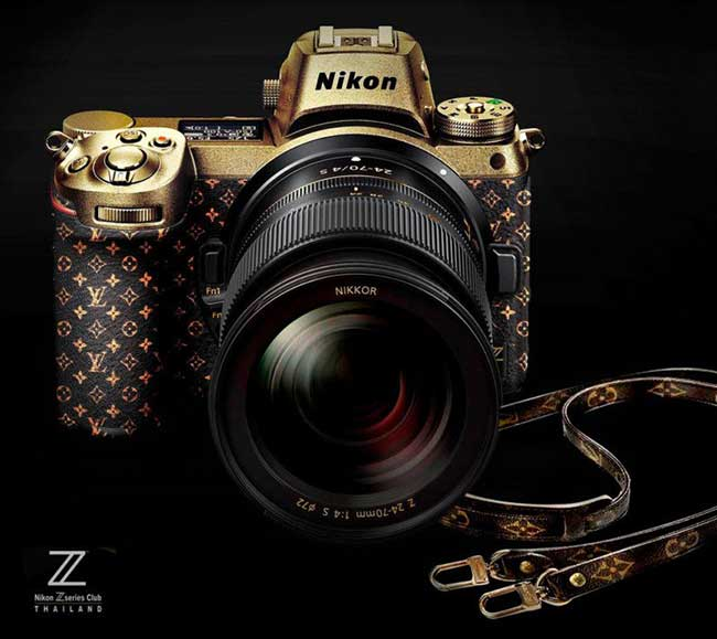 nikon z7 louis vuitton edition photoshop faux, Le Nikon Z7 en Vraie Fausse Edition Louis Vuitton