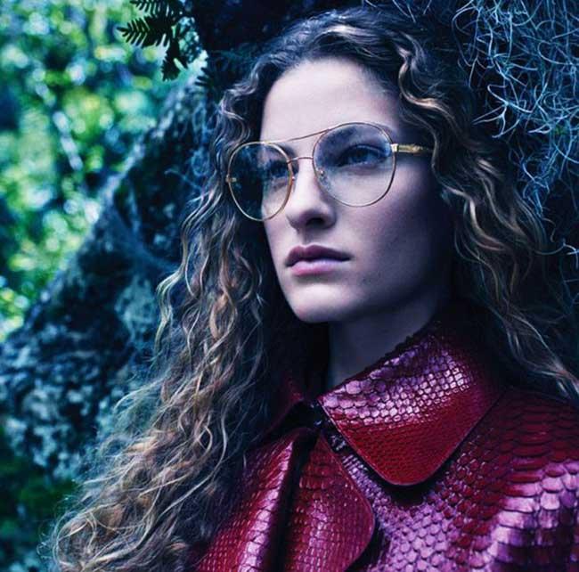 roberto cavalli campagne femme hiver 2018 2019, Escapade Hivernale en Foret pour la Femme Roberto Cavalli