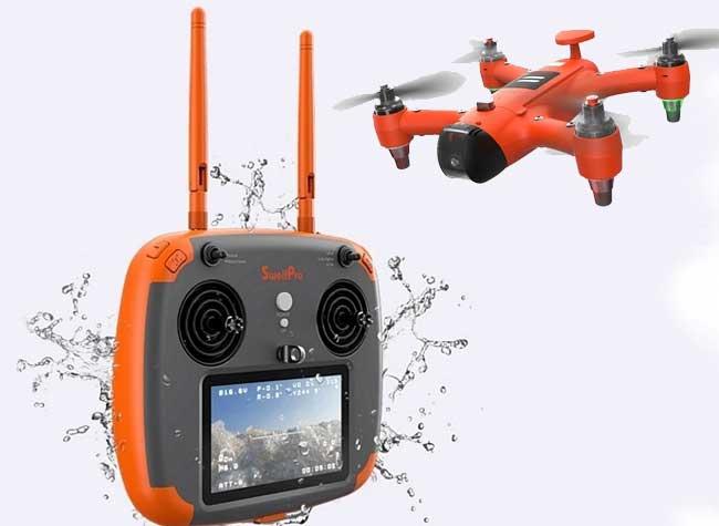 spry waterproof drone etanche hybride 2 - Spry, le Drone qui Peut Voler et Naviguer sous la Mer (video)