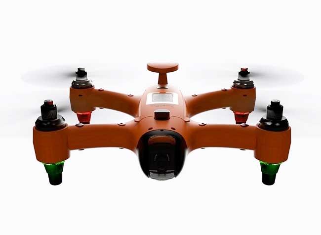 spry waterproof drone etanche hybride 4 - Spry, le Drone qui Peut Voler et Naviguer sous la Mer (video)