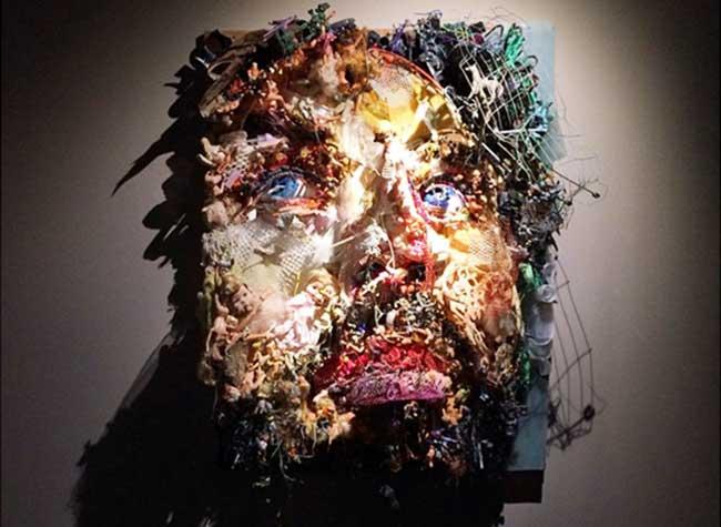 thomas deininger sculpture anamorphose junk art, Objets Recyclés pour des Tableaux Junk Art à Couper le Souffle (video)