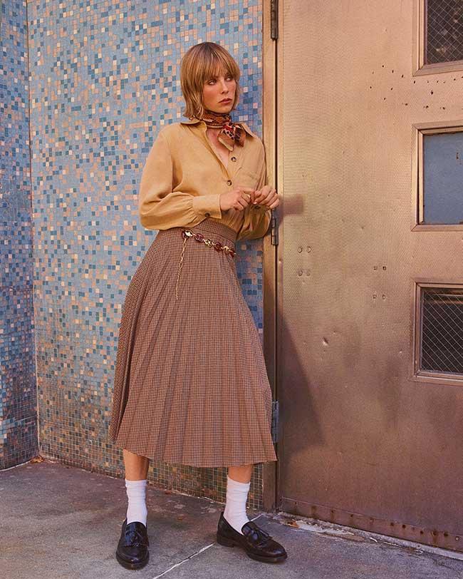 zara-annees-70-style-femme, La Femme Zara Fait une Virée dans les Années 70