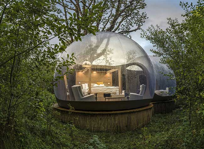 bulles domes nature irlande