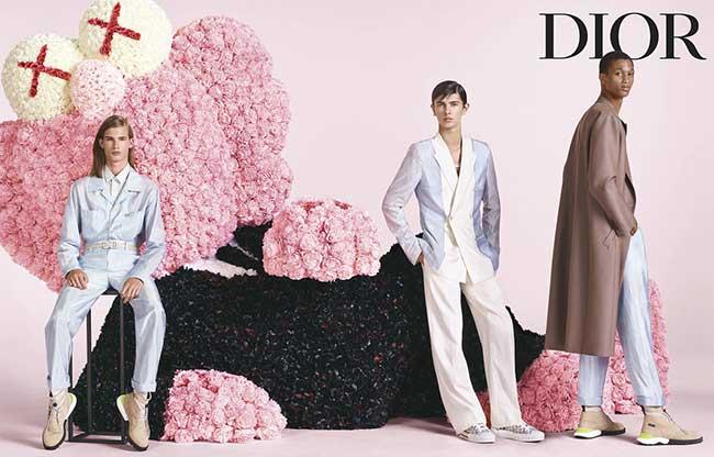 campagne dior homme printemps ete 2019, Un Ete 2019 en Rose et Noir pour l'Homme Dior