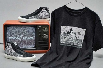 collection capsule vans disney anniversaire mickey mouse