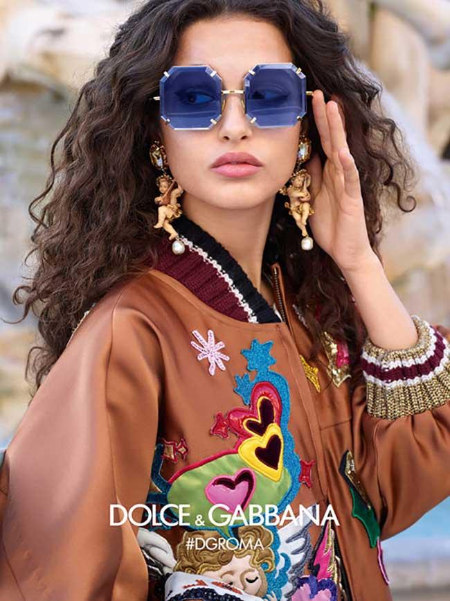 0f7dedb6113a68 La Femme Dolce Gabbana sort ses Lunettes aux Formes et Couleurs ...