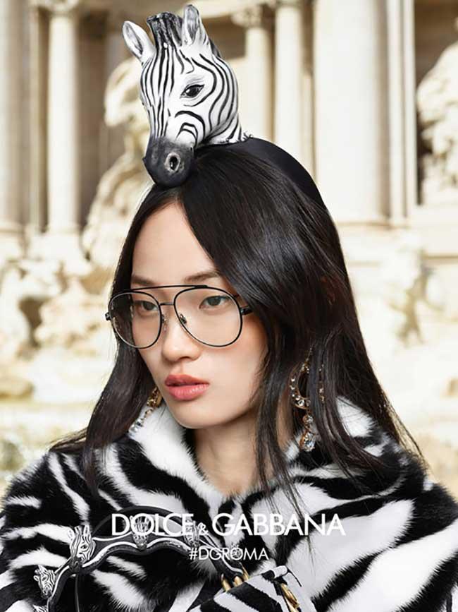 dolce-gabbana-eyewear lunettes femmes automne hiver 2018 2019, La Femme Dolce Gabbana sort ses Lunettes aux Formes et Couleurs Spectaculaires