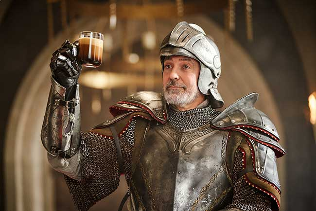 george clooney natalie dormer campagne nespresso pub, George Clooney Parodie 'Game of Thrones' pour Nespresso… et Après ?! (video)