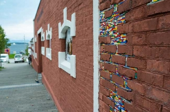 jan vormann lego art murs dispatchwork