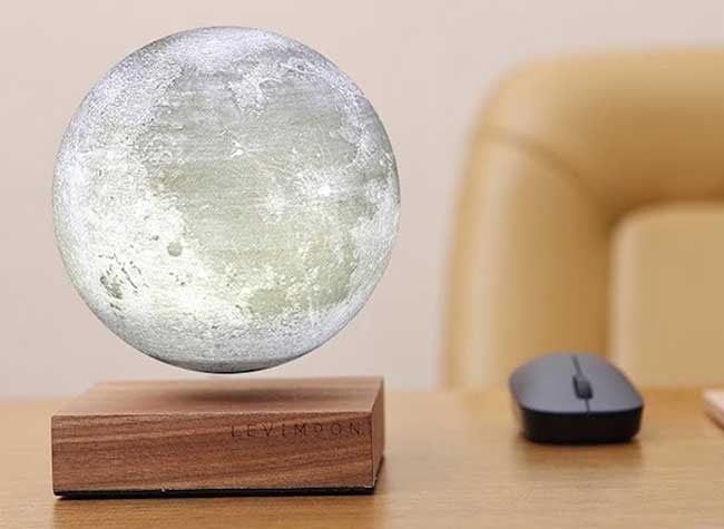 levimoon replique lampe lune led table