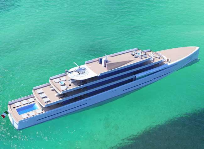 Mirage super yacht invisible, Invisible ce Super Yacht tout en Miroir Devient un Vrai Mirage sur la Mer