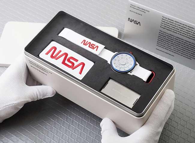 montre anicorn nasa 60 anniversaire edition limitee, Une Montre d'Exception pour les 60 ans de la NASA