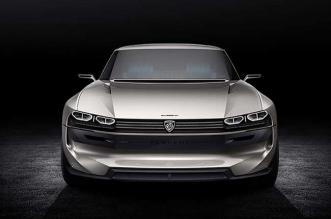 peugeot e legend concept car electrique 504 2018