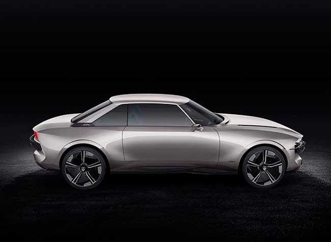 peugeot e legend concept car electrique 504 2018, Peugeot e-Legend le Concept Car dont Rêvent les Américains