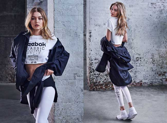 reebook gigi hadid campagne be more human, Gigi Hadid en Campagne pour Reebook 'Be More Human' (video)