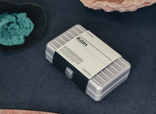 rimowa aesop limited edition koln kit voyage, Essentiels Beauté AESOP dans une Mini Valise RIMOWA à 500 €