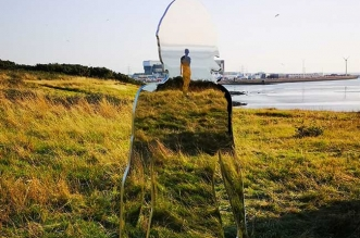 rob mulholland installation art miroir morecambe