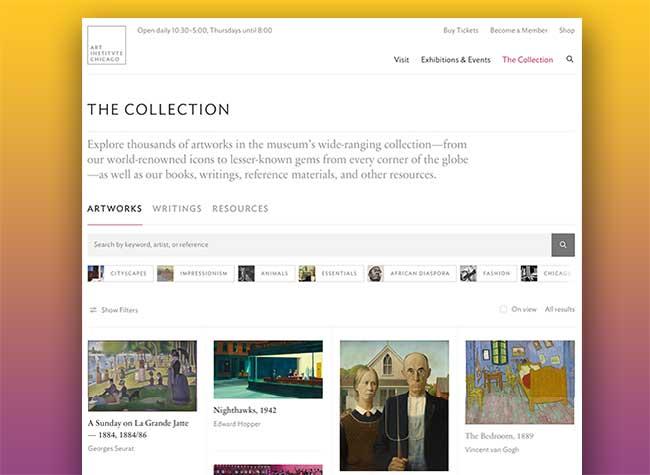 scan peinture hd numerisee art institute chicago 44000, 44000 Oeuvres d'Art Numérisées HD en Téléchargement Gratuit