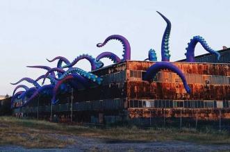 sculpture geantes gonflables filthyluker pedro estrellas
