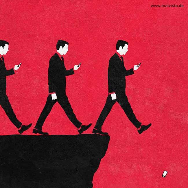 , La Vie Résumée en Illustrations Cyniques et Monochromatiques