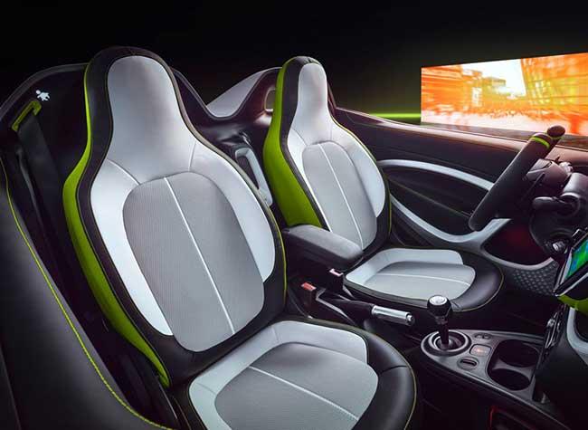 smart ev concept citadine voiture 2018 3 - Smart EV, le Concept Car Cabriolet Electrique qui Décoiffe