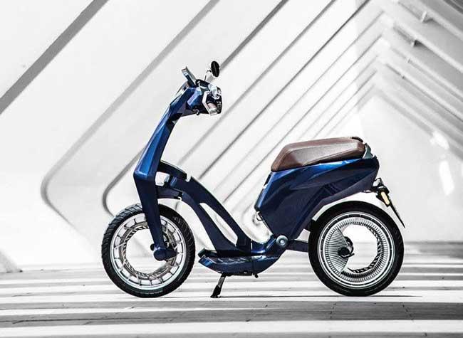 ujet scooter electrique pliable connecte, Ujet, le Scooter Pliable et Connecté 100% Électrique est Là (video)
