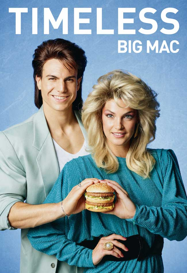 , Indémodable ou Has Been le Big Mac ?! Réponse en Images !
