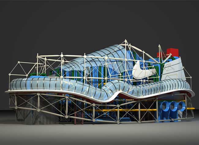 concept art baskets nike air max rosie lee 1 - Cette Artiste Transforme les Baskets Nike en Monuments