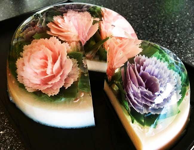 gateaux gelatine 3d siew heng boon 4 - Ces Gateaux 3D en Gélatine sont des Oeuvres d'Art