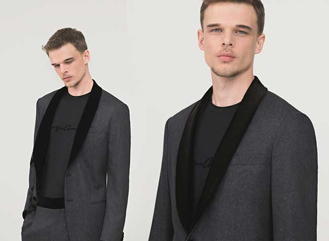 jean-giorgio-armani-luxury-denim-hiver-2018-2019, Costumes en Jeans Giorgio Armani, le Chic du Chic !