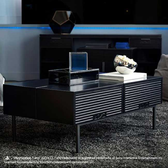 meuble design sony playstation pbteen pottery barn, Sony Playstation a sa Collection de Mobilier Design
