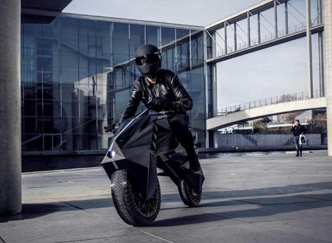 , Imprimer en 3D une Moto sans Pneus c'est Possible (video)