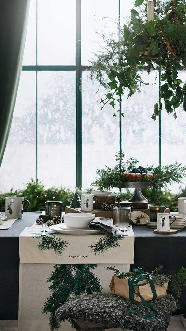 , H&M Home Met la Maison au Vert pour un Noel Nature