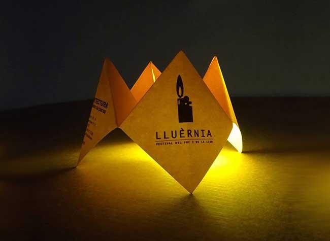 , Spectaculaire Coulée de Lave en Cocottes de Papier Origami