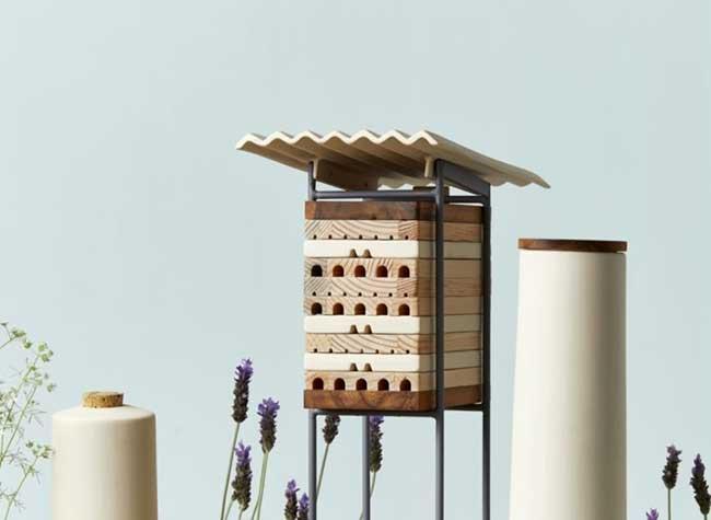 ruches villes abeilles solitaires maliarts 1 - Ruches Urbaines Design pour Sauver les Abeilles Solitaires